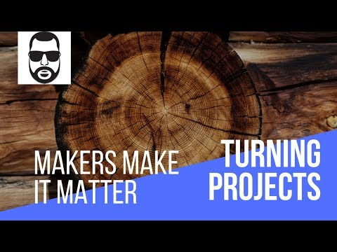 Woodturning - Lime Ring Holder for Makers Make It Matter