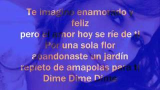 Malu - Si estoy loca (lyrics)