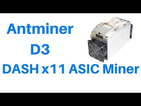 bitmain asic antminer d3 x11 отзывы цена