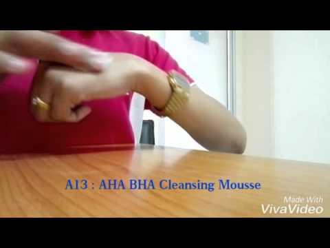 AHA BHA Cleansing Mousse
