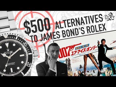 Rolex Submariner: Top 5 Under $500 Alternatives To James Bond's Watch