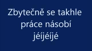 Šmoulové - Nesu klády (karaoke)