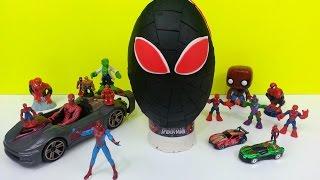 Spiderman Play Doh Surprise Egg Marvel Amazing Toys Thumbnail