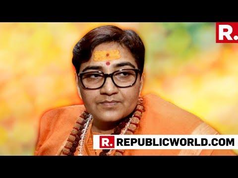 Sadhvi Pragya Addresses Media At Bhopal After Joining Bharatiya Janta Party | #SadhviVsDigvijaya