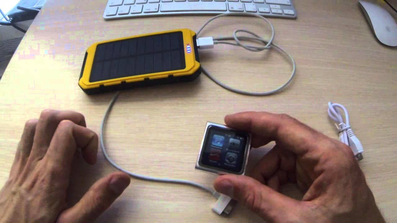 Power bank 5000 mAh 5V на солнечных батареях. Автономное зарядное .