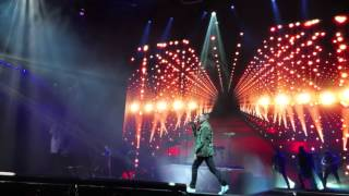 Macklemore and Ryan Lewis - Light Tunnels (live Sportpaleis Antwerp Belgium 2016)
