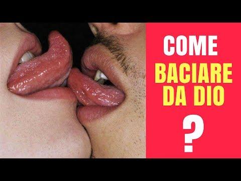 Come BACIARE DA DIO alla francese - L'arte di baciare bene in bocca la lingua di un ragazzo, ragazza