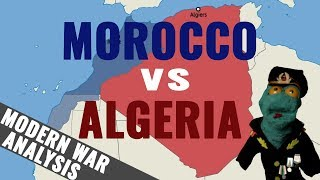 Morocco vs Algeria analysis (2018)