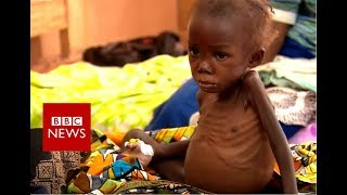 DR Congo crisis: On Kasai's hunger road - BBC News