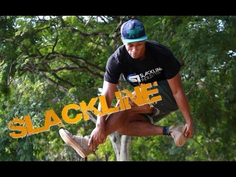 Campeão sul-americano de Slackline faz apresentação especial para o Portal Uai