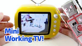 2009 Working Miniature TV SET by Greenhouse, China