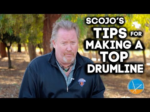 ScoJo's Tips For Making A Top Drumline | Episode 3.1 | PLAYN DRUMS