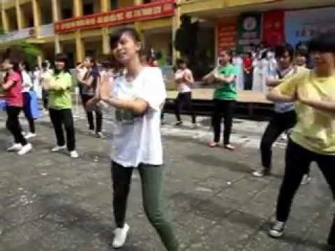 flash mod dân vũ bài Waka waka