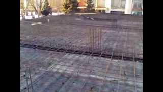 армирование плиты перекрытия(армирование плиты перекрытия на трех этажном здании., 2014-02-05T16:28:27.000Z)