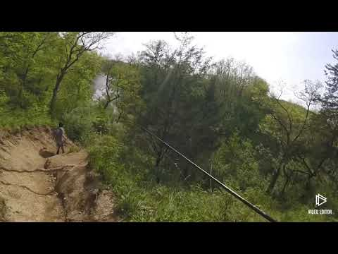 Fishing Darby Creek For Smallmouth(wacky Rig)