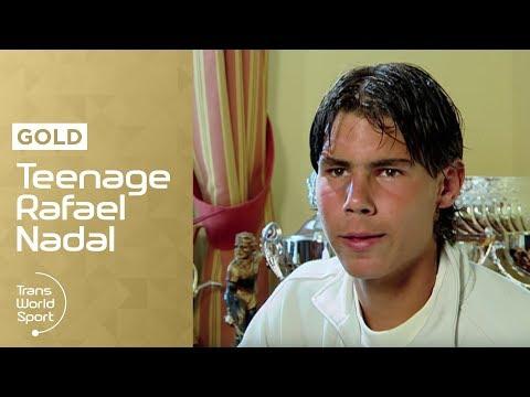 16-year-old Rafael Nadal on Trans World Sport