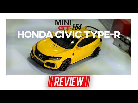 WARNA LANGKA! HONDA CIVIC TYPE-R (FK8) PHOENIX YELLOW BY MINI GT! - UNBOXING & REVIEW