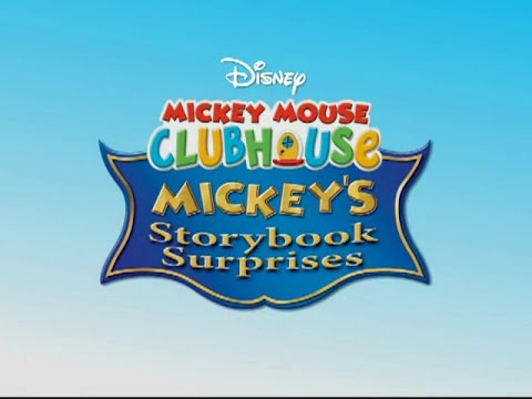 Mickey Mouse Clubhouse Mickey's Storybook Surprises Trailer