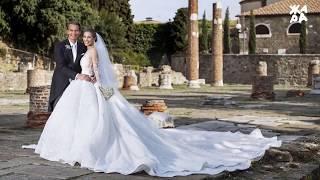 Наследница Swarovski  вышла замуж в платье за $1млн.