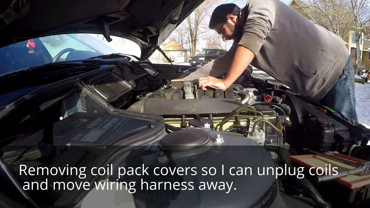 E38 740i Timelapse Part 1 Manifold Removal Kamotors Youtube 1997 Bmw 528i Wiring Harness