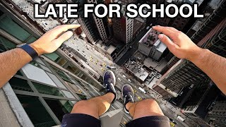 Late For School Parkour POV (Part 2)