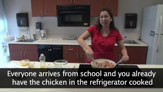 Orange Chicken Stir Fry Demonstration (in Spanish)