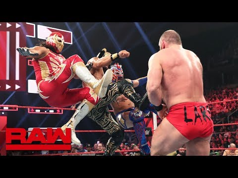 Lucha House Party attack Lars Sullivan: Raw, May 20, 2019