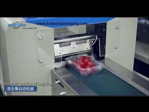 Packing machine of Cherry Tomatoes