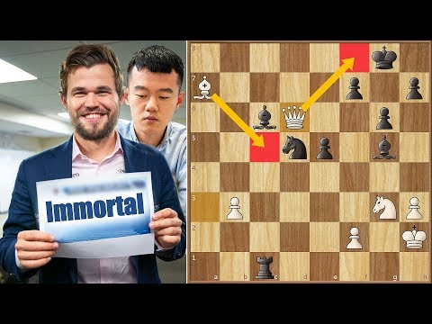The Immortal Playoffs Game! || Carlsen vs Ding || Sinquefield Cup (2019)