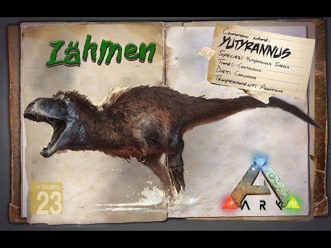 ARK: Survival Evolved [GUIDE/Deutsch] ** Yutyrannus zähmen + Buff ** Patch 258
