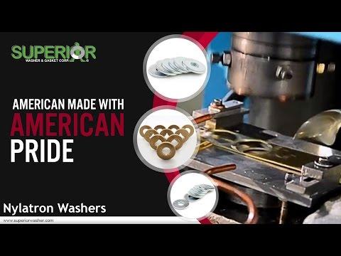 Nylatron Washers From Superior Washer & Gasket Corp.