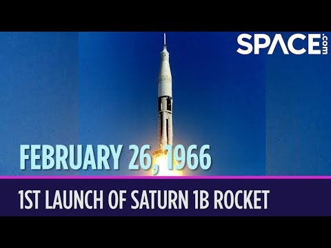 OTD in Space – February 26: 1st Launch of Saturn 1B Rocket