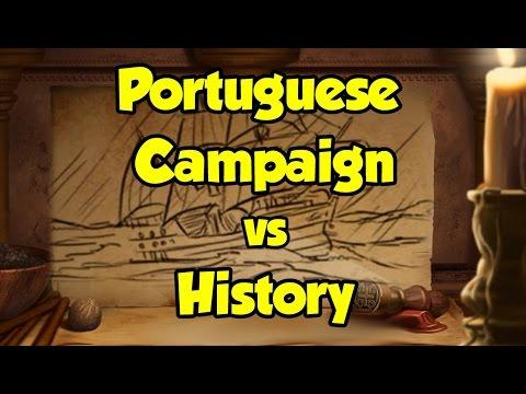 AoE2 Campaigns vs History: Portuguese