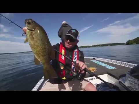 St. Lawrence River Smallmouth Bass - Dave Mercer's Facts Of Fishing 2014 Full Episode 4