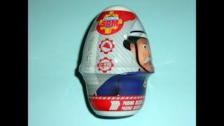 Another Fireman Sam Desser Pudding with Toy Surprise