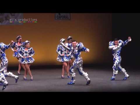 FOLKLORE BOLIVIANO - CAPORALES SAN SIMON VA USA - CAMPEONES SAYA 2017
