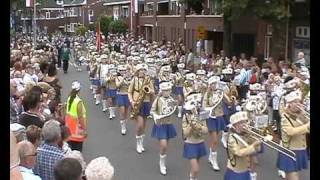 Gladsaxe Pigegarde Denmark Street parade World Music Contest Kerkrade Wmc Netherlands