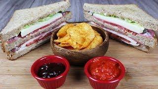 Kulüp Sandviç Nasıl Yapılır? - Club Sandwich Recipe - Yemek Tarifleri | Sandviçler