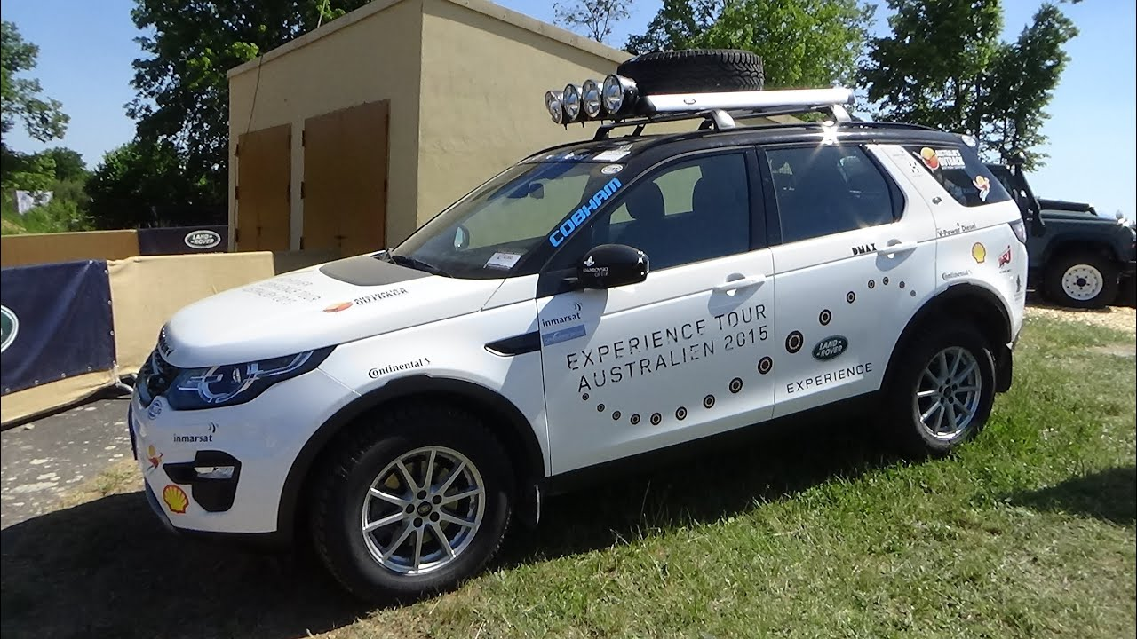 Discovery Sport Roof Rack >> 2015, Land Rover Discovery Sport SD4, Abenteuer Allrad 2015 Bad Kissingen - YouTube