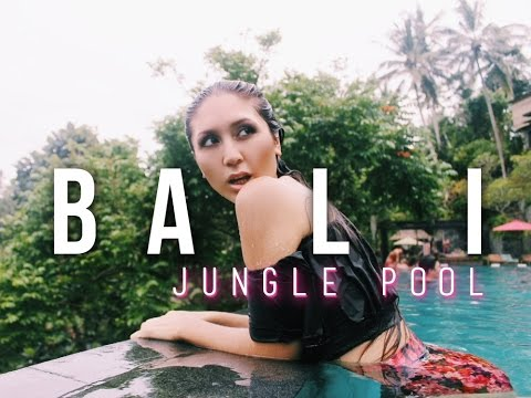 Jungle Fish Bali: An Infinity Pool in Paradise || BALI DRONE TRAVEL VLOG