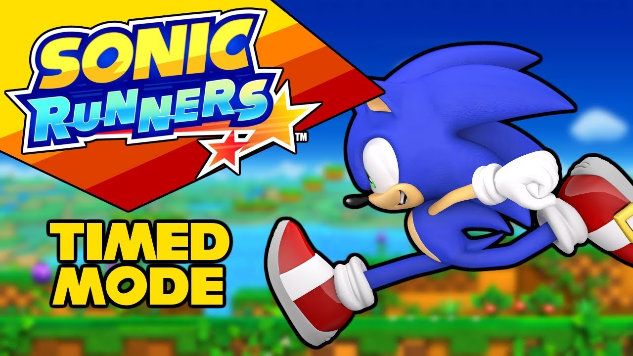 Sonic Runners Revived [RunRun 2019] - Timed Mode Gameplay