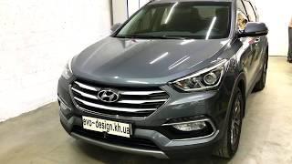 Hyundai Santa Fe заміна лінз поліпшення світла ремонт фар хендай билинзы
