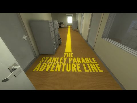 The Stanley Parable, Yellow line Ending