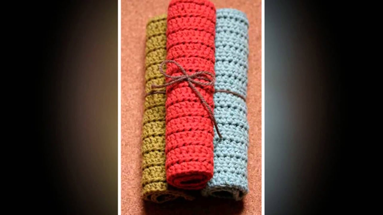 how to crochet napkin rings youtube. Black Bedroom Furniture Sets. Home Design Ideas