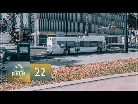 Cities Skylines: Palm Island — EP22 — Buses, Trains & Metros-Subways