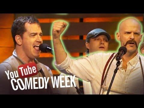 Start a Mumford Band - The Big Live Comedy Show Highlights - YouTube Comedy Week