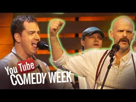 Start a Mumford Band - The Big Live Comedy Show Highlights - YouTube Comedy Week