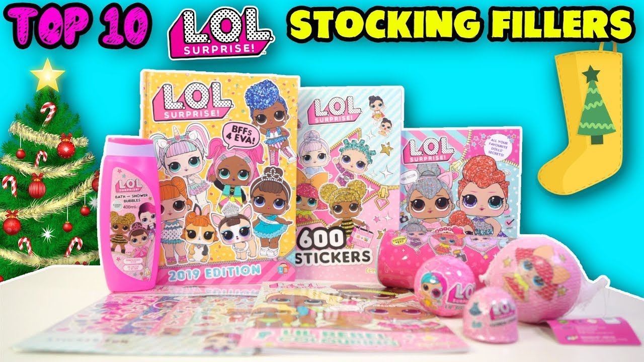 """20/"""" Christmas Stocking Pink L.O.L Surprise"""