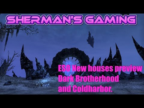 ESO New houses preview Dark Botherhood and Coldharbor.