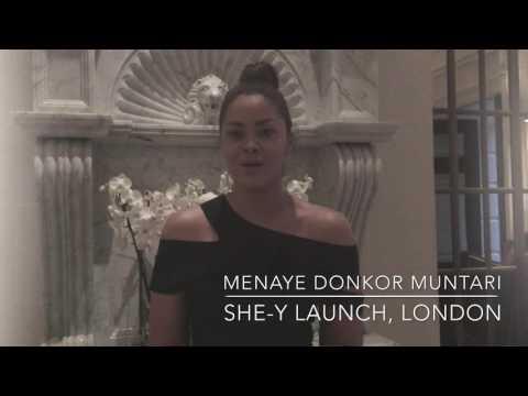 SHE-Y Launch Menaye Donkor